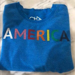 Chaser Sweaters - cozy chaser rainbow sweatshirt